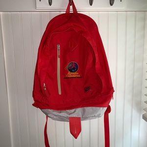 Red Nike Arcadia Invitational Backpack